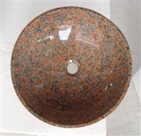 Maple Red Granite Sink