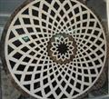 Natural Waterjet Medallion