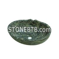 China Tiger Skin Yellow Granite Sink