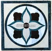 Decorative Marble Waterjet Medallion
