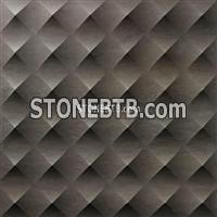Grey 3D CNC Marble Carving Board