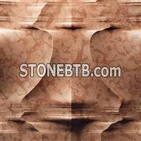 Rosso verona 3D CNC Marble Carving Board