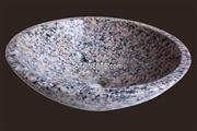 Cheap Pink Red Round Stone Sink
