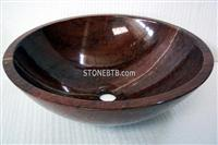 Cheap Imperial Wood Round Stone Sink