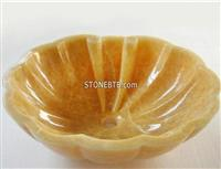 Yellow Onyx  Sink  Design