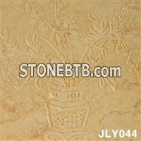 Natural Beige 3D Stone Wall With Cheap Price