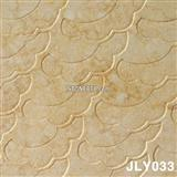 carving Sunny Beige Marble 3D Cnc Wall Panel