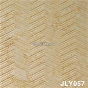 Decorative Yellow Marble 3D Cnc Wall Panel