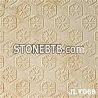 Decorative 3D CNC Nature Stone Panel Wall Board