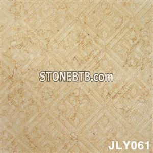 3D Natural Golden Beige stone wall panel