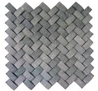 Special 3D Decorative grey  Mosaic wall tiles