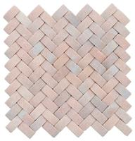 Special 3D Decorative Pink onyx Mosaic wall tiles