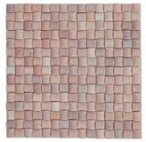 3d pink marble mosaic tiles