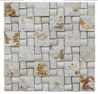 3d Wall & Floor decorative rectangle stone mosaics