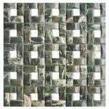 New Design 3d Green Marble Stone Mosaics