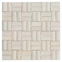 3D Natural White stone mosaic,Multicolor Stone Mosaic