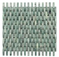 3D Decorative Green Stone Wall Mosaic Tile