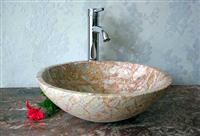 Agate Red stone sink, stone basin