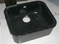 Cheap Jet Black Granite Sink