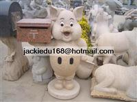 Mailbox Stone Angel Carving Statue