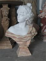 Cheap Lady Stone Carving Statue