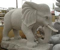 Decorative Elephant Stone Carving Statue