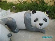 Decorative Panda Stone Carving Statue