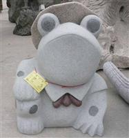 Decorative Frog Stone Carving Statue