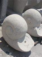 Decorative Snail Stone Carving Statue