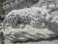 Stone Lepoard Carving Statue