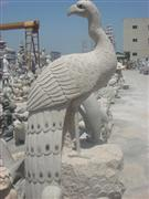 Stone Peacock Carving Statues