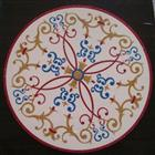 Cheap Round Marble Stone Patchwork