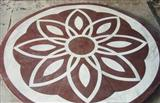Cheap Round Marble Stone Waterjet Patchwork Inlay