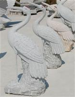cheap China Grey granite bird statue for sale