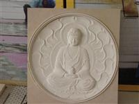 3D Cnc natural stone budha Carving pattern