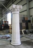 cheap decorative natural inner stone columns decoration