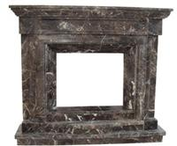 cheap decorative marble stone wholesale electric fireplaces