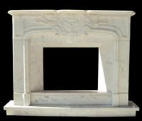 cheap marble wall indoor used electric fireplace
