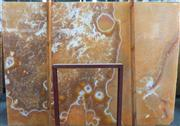 Yellow Dragon Onyx Slab Wall Tile