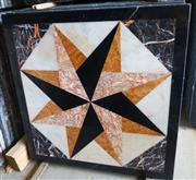 cheap Square Waterjet Medallion Marble Medallion for Interior Decoration