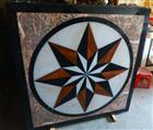cheap decorative waterjet medallion inlay