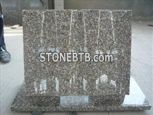 Cheap China G664 Luoyuan Red Granite Tombstone