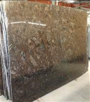 Angola Brown Polished Granite Slab