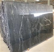 Cheap cosmic black granite slab tile