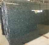 cheap peacock green granite slab tile