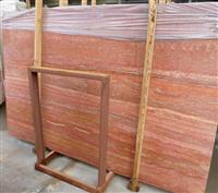 Red Traverine Marble Slab Tile