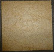 Nature beige wallpaper to cover paneling