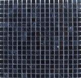 cheap polished nero marquina marble mosic tiles