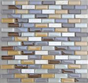 Century Beige Marble Mosaic,Glass Mosaic Tiles Pattern