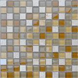 Selvia Beige Marble Mosaic,Glass Mosaic Tiles Pattern